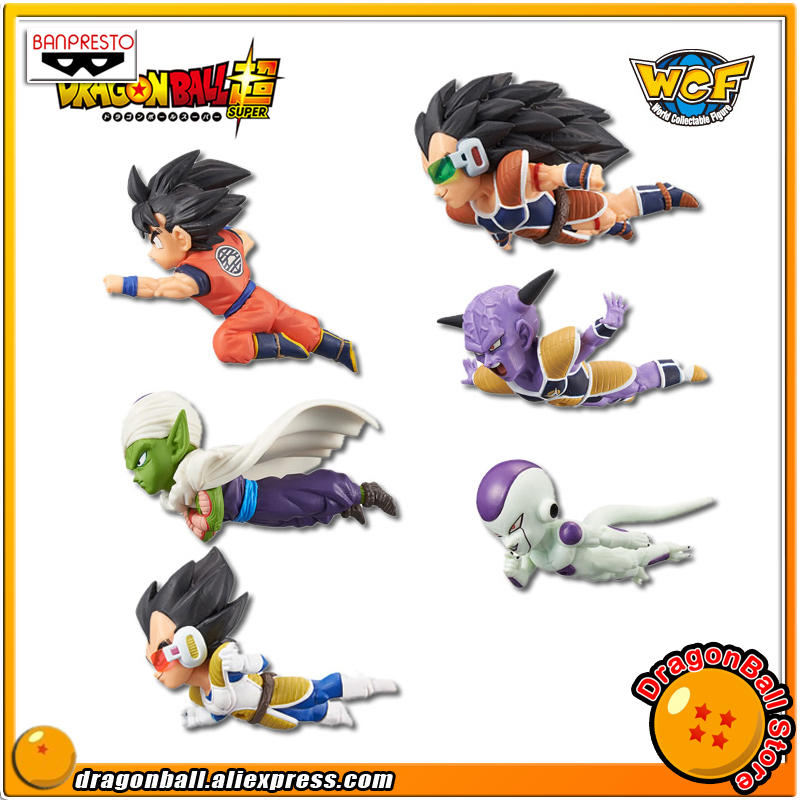Dragon Ball Z Original BANPRESTO World Collectable Figure / WCF The Historical Characters Vol.1 Figure - Full Set of 6 Pieces original banpresto world collectable figure wcf the historical characters vol 3 full set of 6 pieces from dragon ball z