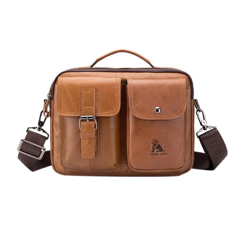 HTB1dhZGPMHqK1RjSZFPq6AwapXa2 Men Business Briefcase Vintage Genuine Leather Laptop Messenger Bag Cowhide Big Capacity Tote Office Handbag Men Briefcase