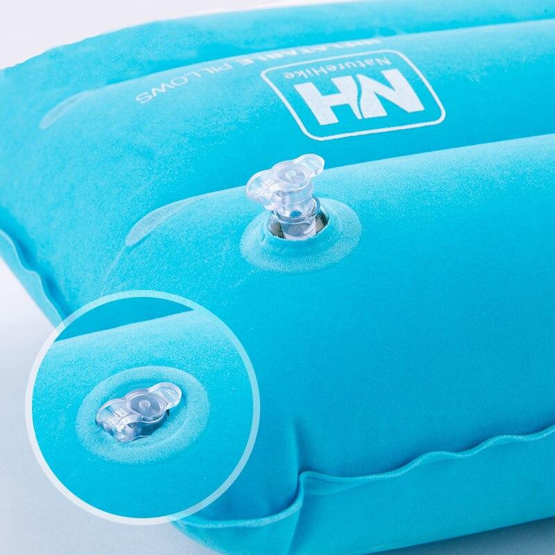 Portable Inflatable Pillow Travel Air Cushion Camp Beach