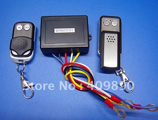 Free shipping 12V Wireless Winch Remote Control Switch Unit for Truck Jeep ATV SUV Winch 50ft