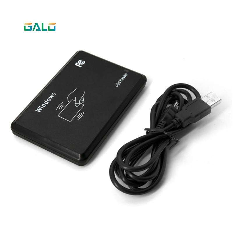 125Khz RFID USB  Reader For Access Control EM4100 USB Proximity Sensor Smart Card Reader No Drive Issuing Device EM