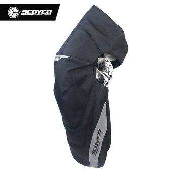 SCOYCO אופנוע הברך מגן מוטוקרוס משמרות חם MX רפידות חיצוני ספורט חם אופנוע ציוד Moto הברך רפידות