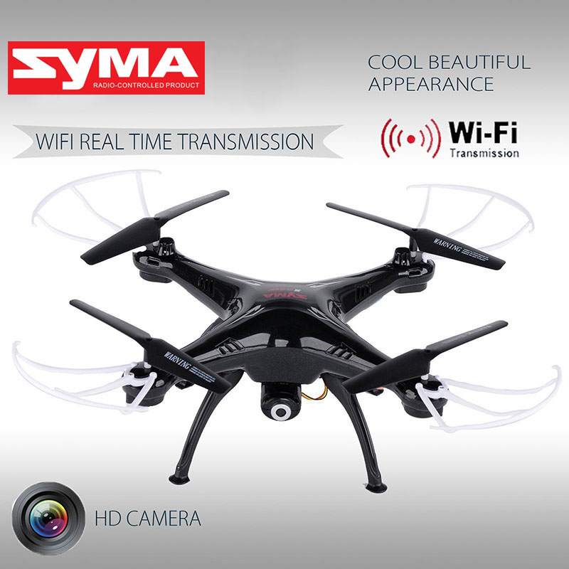 Syma X5SW FPV Quadcopter Drone with 0.3MP HD Camera 6-Axis Gyro 2.4G 4CH Real-time Images Return RC WIFI FPV ada instruments tempro 900