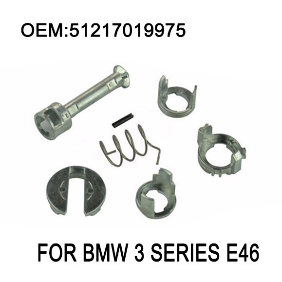 E46 Door Lock Repair Kit Fit BMW E46 3 Series 323i 323c 323ci 325i 325xi 325c 325ci 328i M3 Barrel Cylinder 1998-2006 for bmw e36 318i 323i 325i 328i m3 carbon fiber headlight eyebrows eyelids 1992 1998