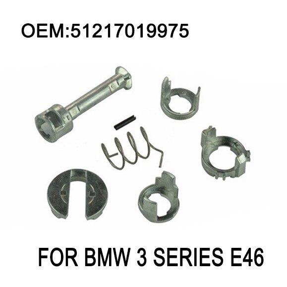 E46 Serrure De Porte De Réparation Kit Fit BMW E46 3 Série 323i 323c 323ci 325i 325xi 325c 325ci 328i M3 Baril Cylindre 1998-2006
