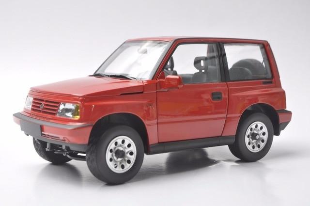 1 18 Diecast Model For Suzuki Vitara Escudo 1989 Red Alloy Toy Car