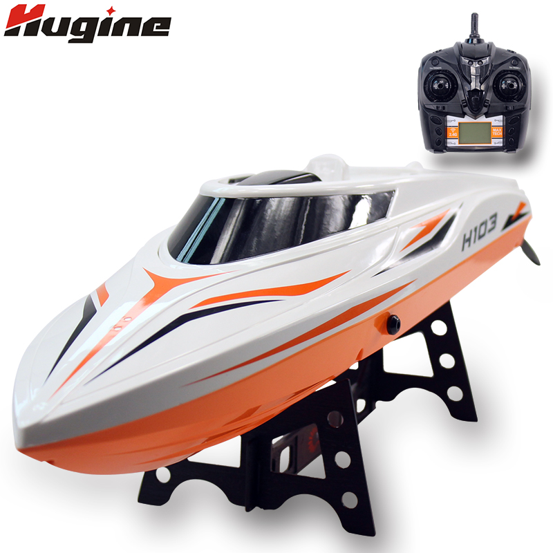 RC Boat Large Remote Control Ship High Speed Racing Yacht Water Cooling System Speedboat With Auto Reverse Toy Hobby Model Gift