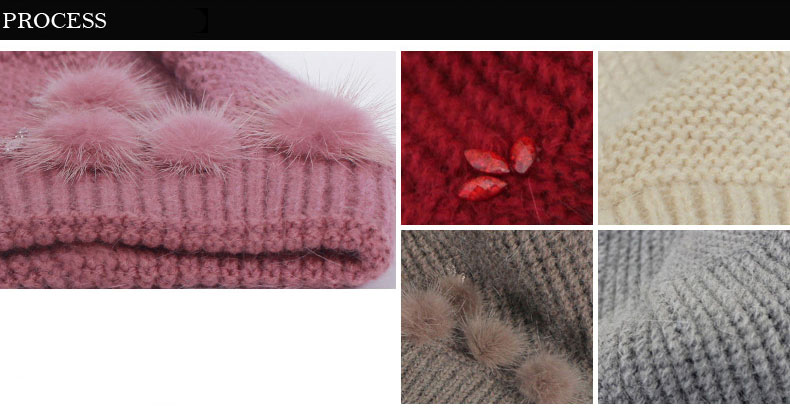Beanies Rabbit Winter Casual 2