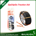 ZipClipGo Emergency Traction Aid used on all kind of alloy and aluminium, steel rims Anti Wheel Slip Chain