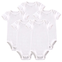 2017 Hot Sale Baby Clothing Infant Baby Boy Gril Romper 5 Pcs/Lot Short-sleeve Jumpsuit Infantil 0-12M Baby Pajamas