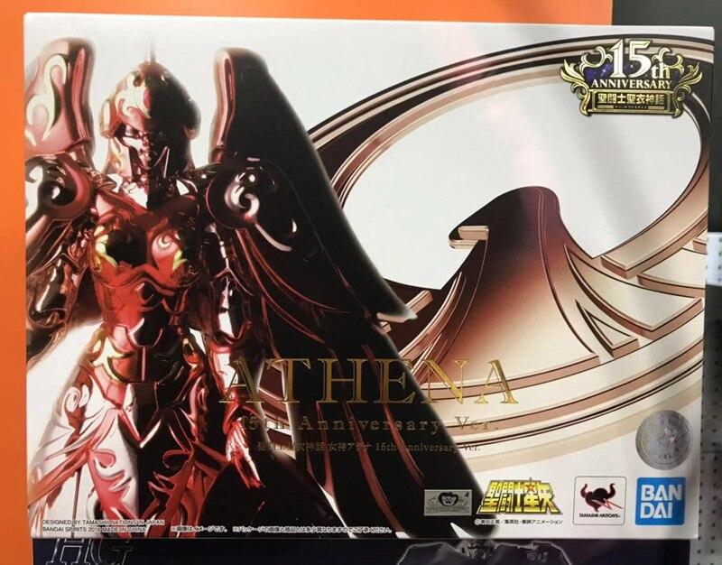 Saint Cloth Myth Saint Seiya GODDESS ATHENA 15th Anniversary Ver Figure BANDAI
