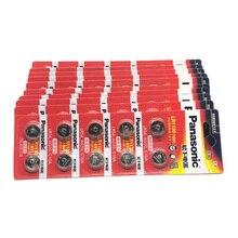 300pcs/lot New Original Battery For Panasonic LR54 189 AG10 L1131 LR1130 G10 V10GA 389 Alkaline Button Cell Coin Batteries LR 54