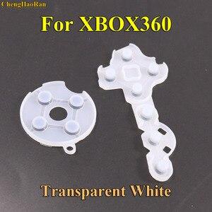 Image 3 - ChengHaoRan 100 set tampons en caoutchouc silicone conducteur pour Xbox360 contrôleur sans fil pour Xbox 360 bouton de Contact d pad réparation