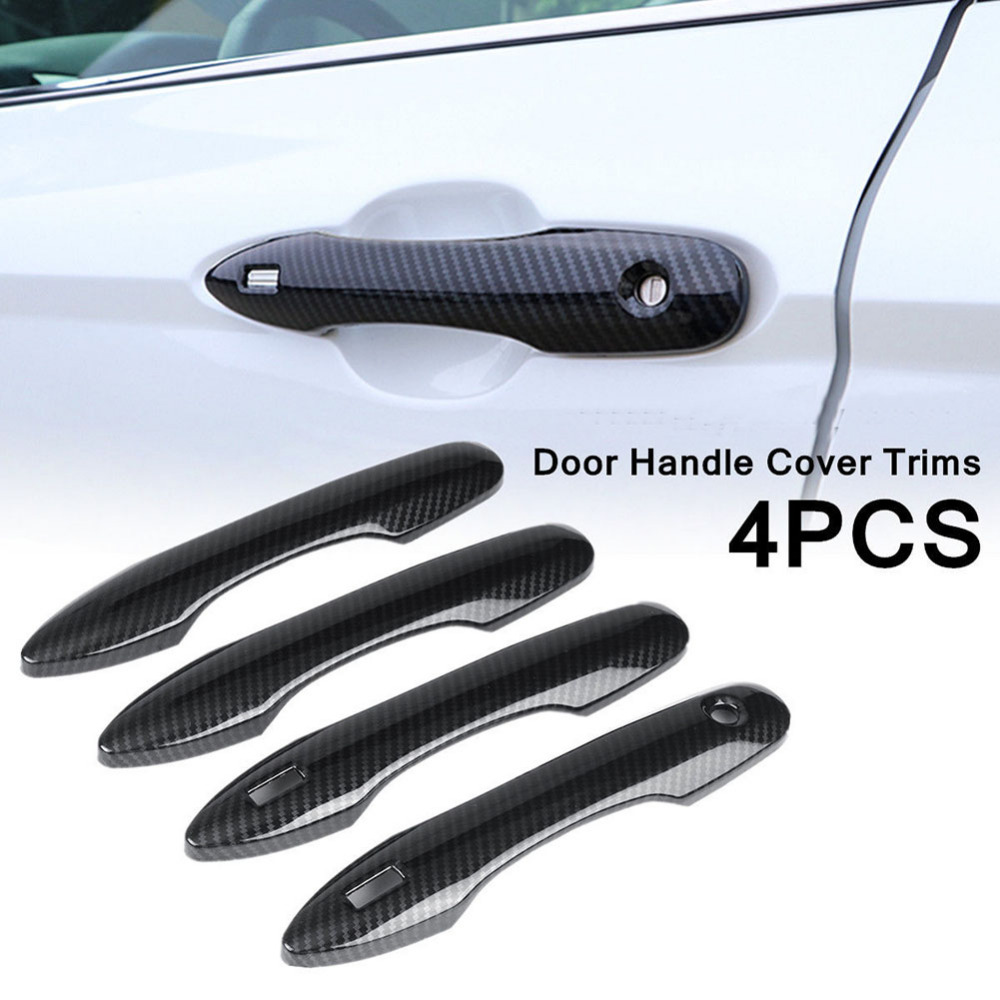 4X Chrome Door Handle Cover Protector Trim For Toyota Camry Avalon Prius Corolla