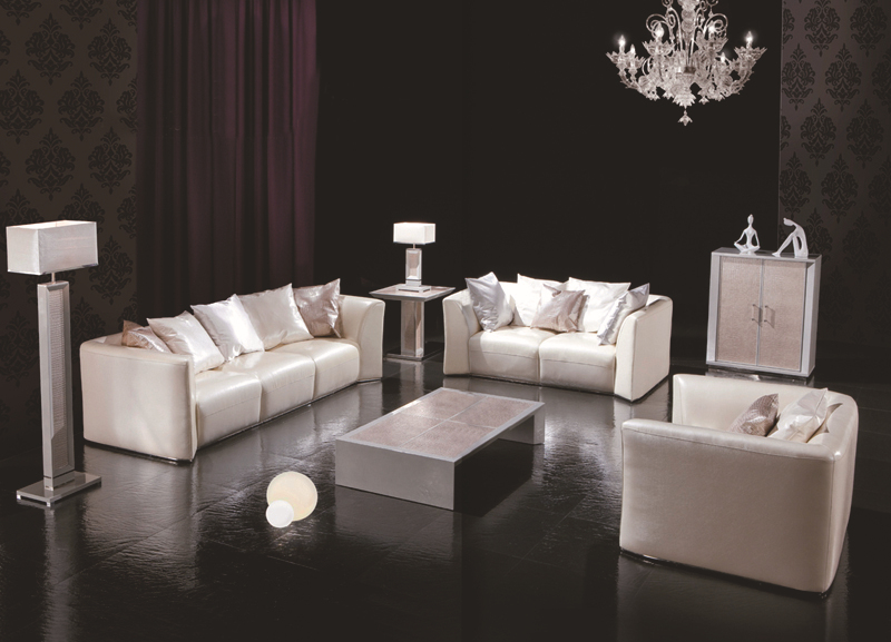 leather furniture for small living room cow genuine leather sofa set living room furniture 25484