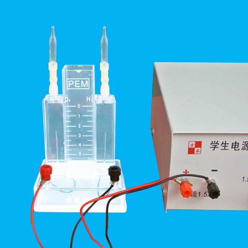 Water electrolysis experiment electrolysis water device educational equipment ,laboratory glassware student home lab