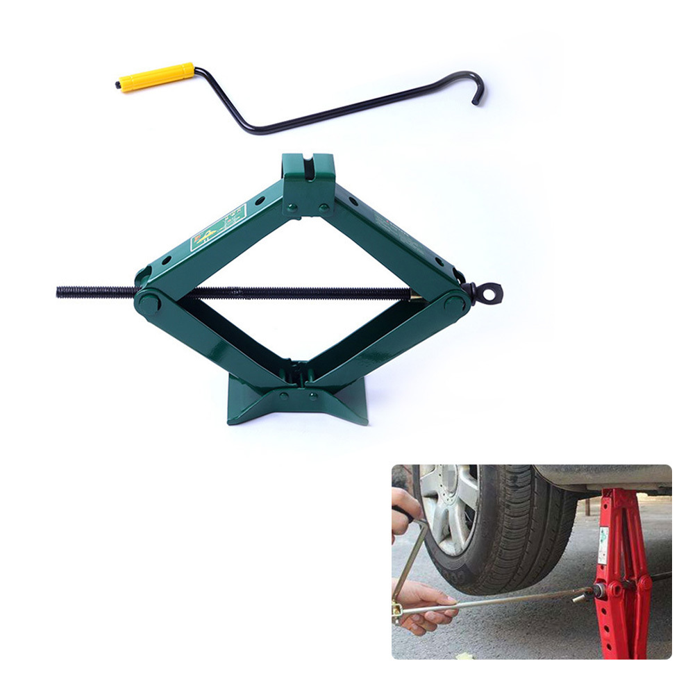 0.8 1T Car Pickup Truck Light Jack Car Self service Portable Tire Changer Tools Auto Car Repair Tool Kit car styling