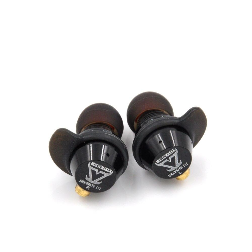 TONEKING MrZ Shock Wave III หูฟังเพลง Maker III 5 Units 4 BA + DD หูฟัง DA Hybrid 5 หน่วยหูฟัง DIY HIFI Hi   End ชุดหูฟัง-ใน หูฟัง จาก อุปกรณ์อิเล็กทรอนิกส์ บน AliExpress - 11.11_สิบเอ็ด สิบเอ็ดวันคนโสด 1