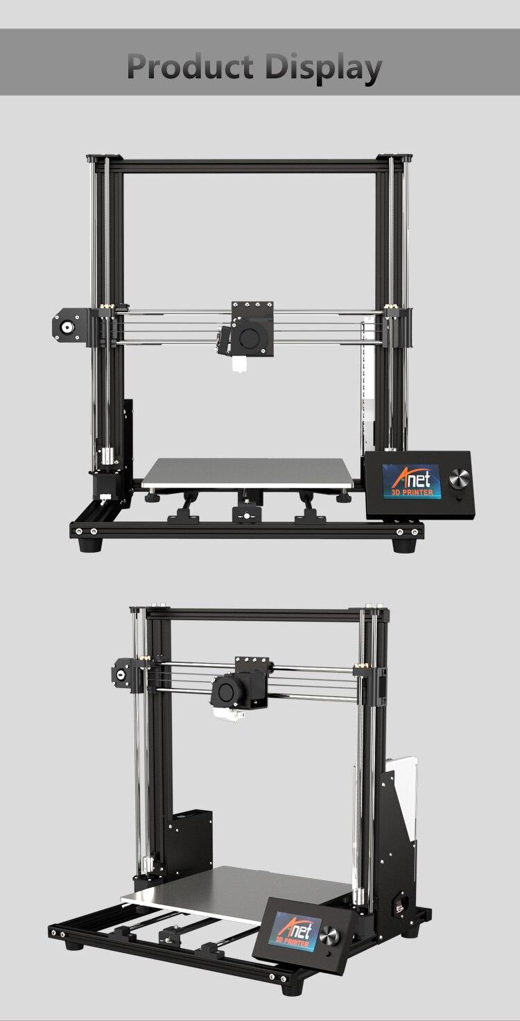 quadro liga alumínio fdm impressora 3d com filamento 3d