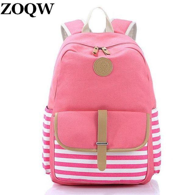 Aliexpress.com : Buy 2016 Teenage Girls Boys Fashion Backpacks ...