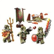 Bela Kompatibel med Giftse CHIMA 10348 Ninja Urban Figures Byggstenar tegelstenar Tegelstenar Kompatibel med legoe leksaker Pogo