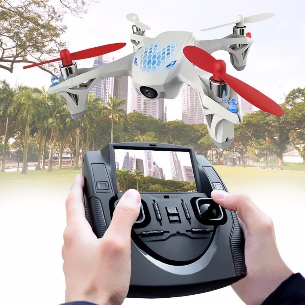 Original 4CH H107D X4 Hubsan FPV Drone RTF 2.4g RC Quadcopter Helicóptero com Câmera HD Em Tempo Real de Vídeo Remoto controle Da Câmera