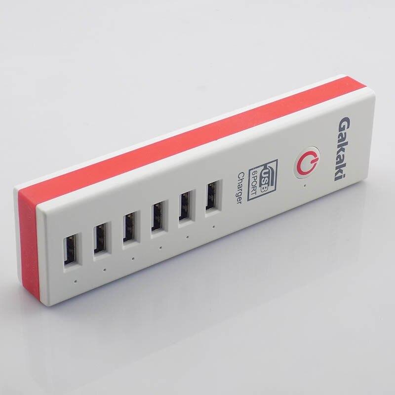 אוניברסלי נייד Usb קיר מהר מטען 6 יציאות USB 2A מהר מטען מיקרו Usb מתאם מתח Chargeur עבור iPhone 6 6s xiaomi LG