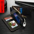 CaseMe Для Samsung Galaxy S7 Edge Натуральная Кожа Case Unique съемная 2 в 1 Стенд Wallet Обложка для samsung galaxy s7edge