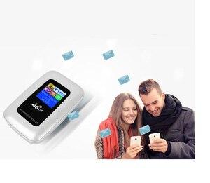 Image 5 - Разблокированный 2100 mAh 3g/4G wifi роутер 100 Мбит/с мобильный wifi точка доступа карманный беспроводной маршрутизатор для путешествий на открытом воздухе с слотом для sim карты