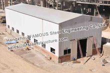 Structure en acier, conception de Construction industrielle, Fabrication d'entrepôt