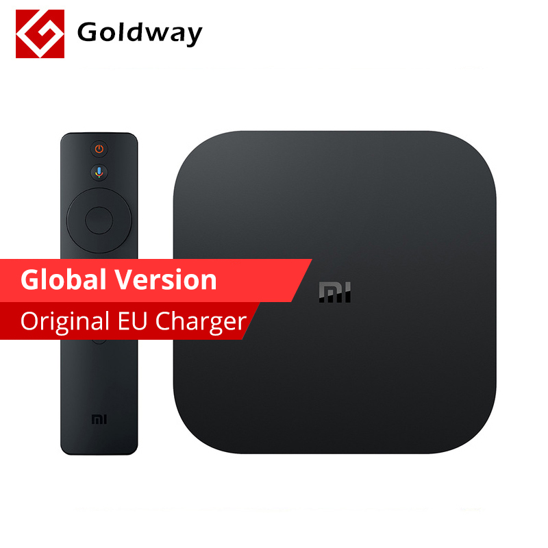 US $66 99 |Global Original Xiaomi Mi Box S 4K HDR Android TV 8 1 Ultra HD  2G 8G WIFI Google Cast Netflix IPTV Set Top Mi Box 4 Media Player-in  Set-top