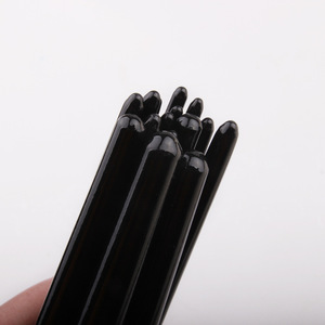 Image 5 - 17 Pcs Set Artist Paint Brush With Carrying Case Knife Case Sponge Painting Black for Watercolor Paintbrush Oil Acrylic Drawing