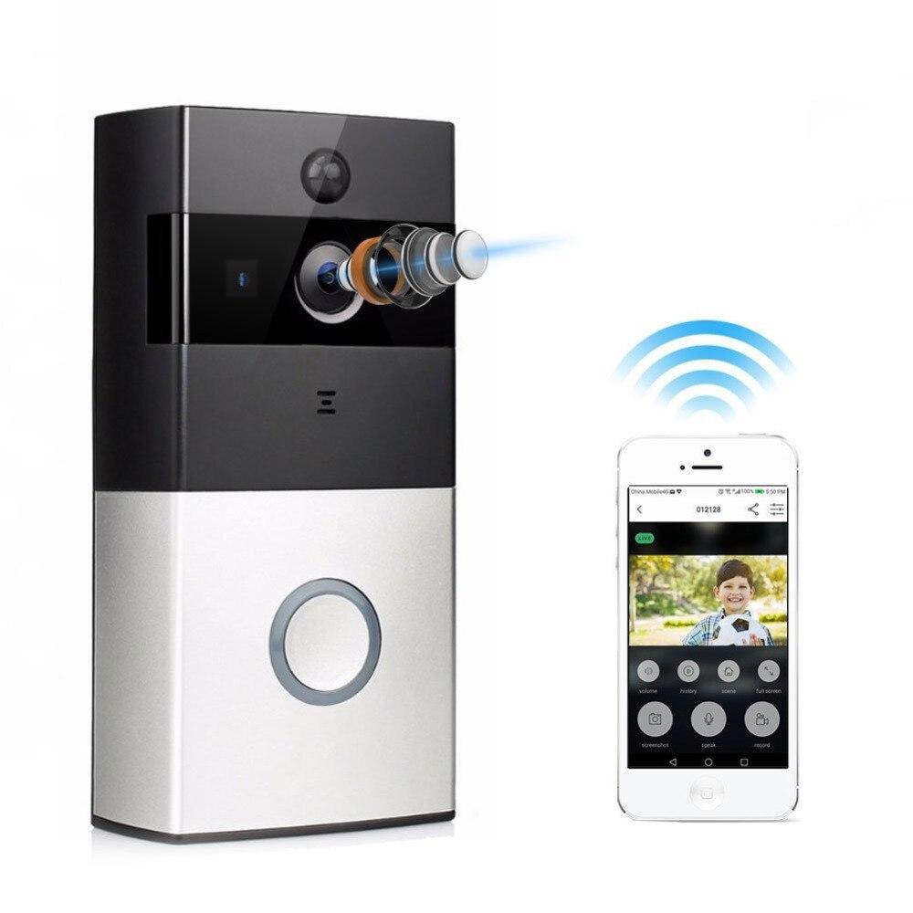 1080P Video Doorbell,Wireless WiFi Battery Ring Video Doorbells HD 2.4G Phone Remote PIR Motion Two-way Talk Home Alarm Security