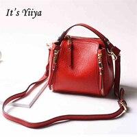 It S YiiYa 6 Colors Hot Women HandBag High Quality Panelled Casual Handbags Shoulder Bag Messenger
