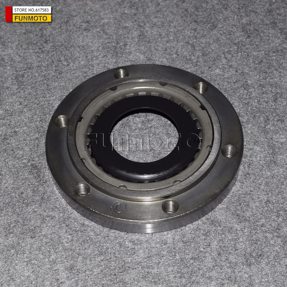 Overriding Clutch for CFMOTO CF500 X5 ATV CF188 /CF800/CFX8 engine Parts Number 0180-091200 middle driven gear for cfmoto cf500 x5 atv cf1800 engine parts number 0180 091002