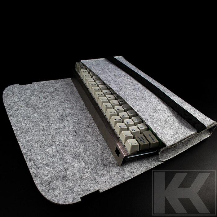 Ücretsiz Kargo Filco minila GH60 poker kbc104mechanical klavye çantası toz kapağı ducky 87 keycool 87 klavye çantası
