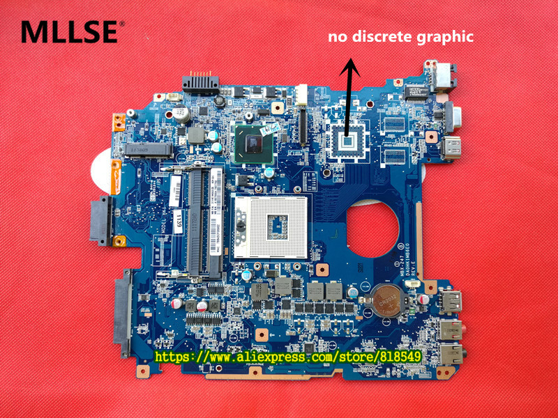 LAPTOP MOTHERBOARD MBX-247 DA0HK1MB6E0 REV :E FIT FOR SONY VPCEH NOTEBOOK PC, 100% WORKING