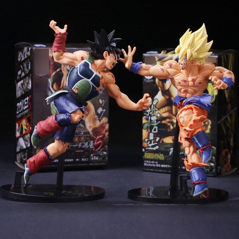 Caliente de la bola del dragón del Anime Z resurrección F Super Saiyan hijo de Goku Bardock PVC figura de acción de colección muñeca modelo juguete 23 cm