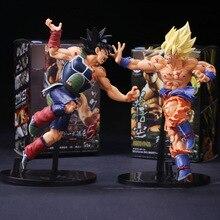 Горячая аниме Dragon Ball Z воскресение F Супер Saiyan Сон Гоку Bardock ПВХ фигурку Коллекционная модель игрушки куклы 23 см