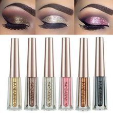 HANDAIYAN Metallic Eyes Makeup Diamond Shimmer Glitter Eyeshadow Liquid Eye Shadow Waterproof Shine Colorful Eye Shadow Liquid(China)