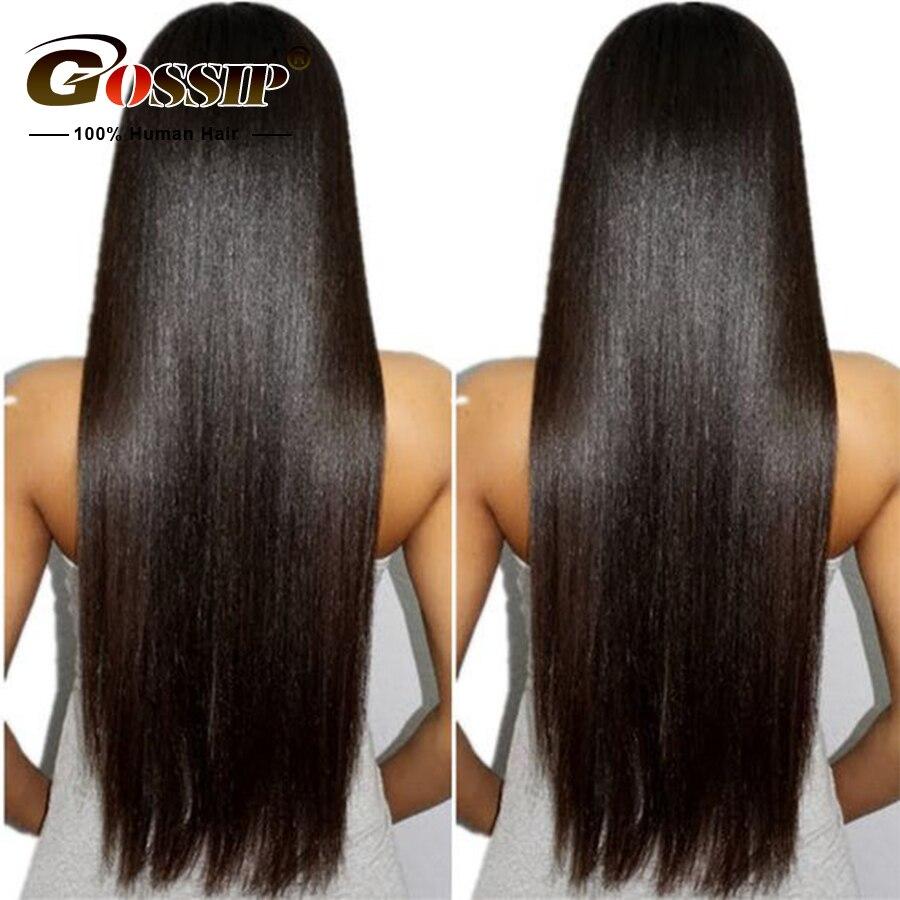 6 Синтетические волосы на кружеве человеческих волос парики для черный Для женщин сплетни волосы Синтетические волосы на кружеве парик бра...