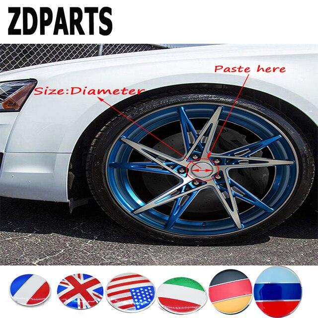 Aliexpresscom Buy Zdparts 56mm Car Styling Flag Wheel Center Hub