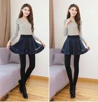 false two piece skirts pants Elastic waist women thick warm cotton trousers 2018 New Fashion Women's Autumn Winter Good Quality