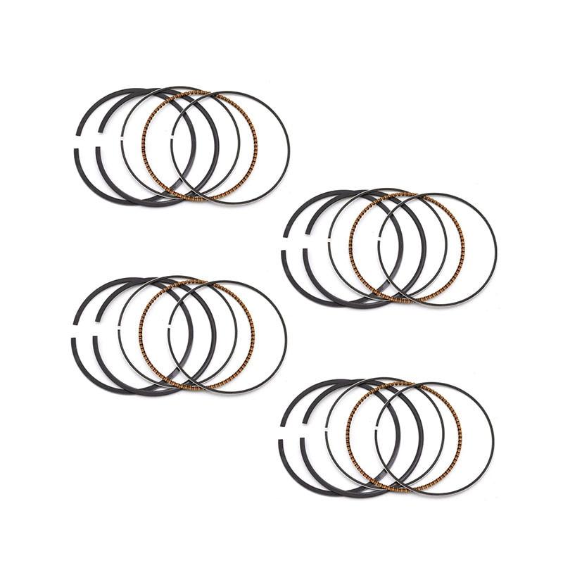 ⑥OVERBORE 25 55.25mm Piston Piston Rings for HONDA VFR400K