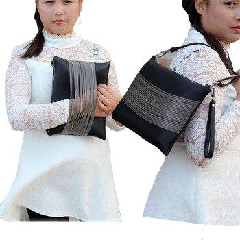 High Quality black Women Bag Women Shoulder Bags for Girls Summer hot sale zipper leather bags women leather handbags