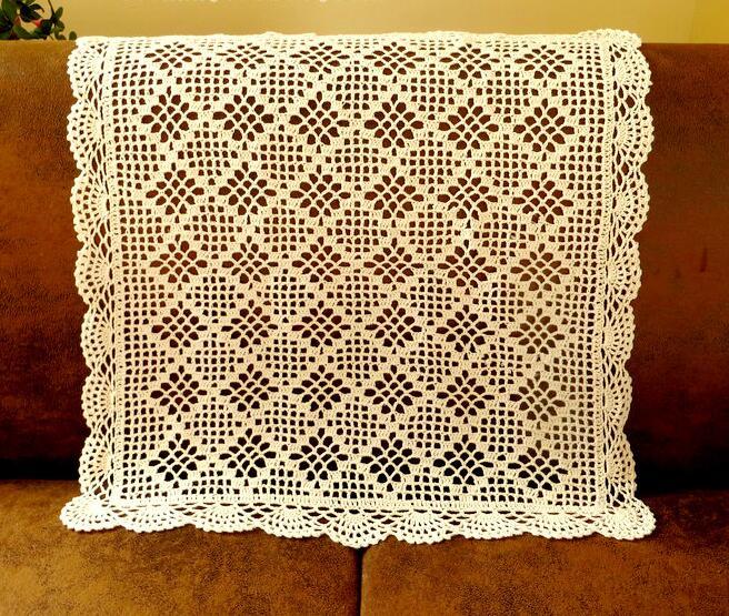 Crochet Rectangle Tablecloth Elcho Table