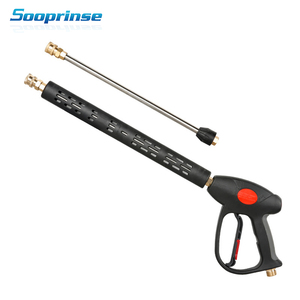 Image 1 - Sooprinse High Pressure Washer Gun Wand Tips Water Gun foam lance foam gun car wash 4000PSI for penogenerator car accessories