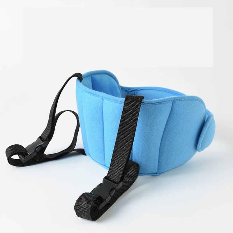 Baby Head Fixing Strap Brace Child kids Car Safety Seat Headrest Sleep Adjustable Auxiliary Cotton Belt Stroller Accessories