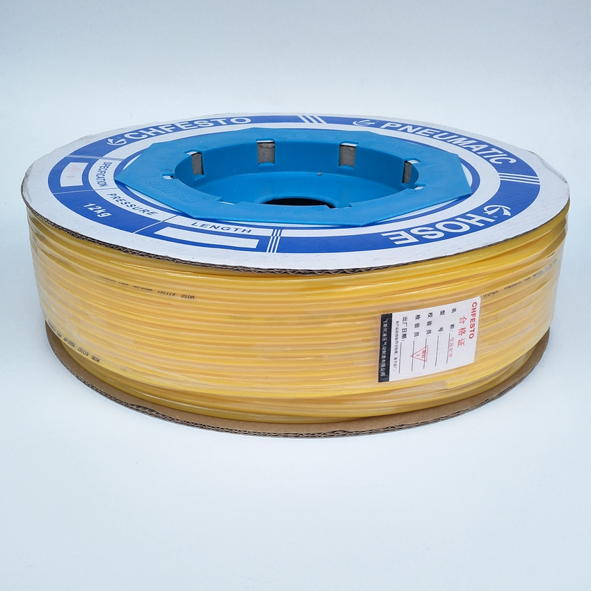 200meter/roll Pneumatic Tube PU6x4mm OD 6mm ID 4mm Plastic Flexible Pipe Polyurethane Tube