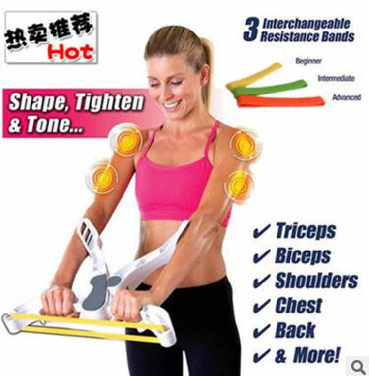 WONDER ARMS Arm Fitness Equipment Rally Muscle Exerciser Wrist Exerciser Hand Gripper Strengths Force Fitness Equipment